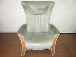 【Reclining chair】リクライニングチェア 皮脂汚れ クリーニング 染め直し