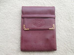 【Cartier】カルチェ 1920年代モノの財布 クリーニング