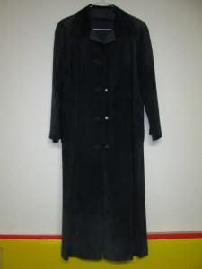 【kanematsu】兼松 カーフスエードのロングコートが色褪せし染め直しのご依頼です。