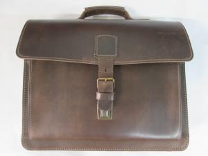 【FREIHERR-VON-MALTZAHN】ドイツ製 ブライドルレザー 鞄 クリーニング