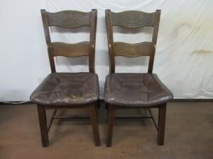 カフェ【chair】椅子座面の張替え補修のご依頼です。