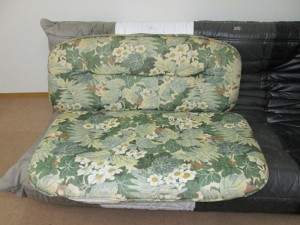 【sofa】ソファ・クッションカバー交換のご依頼です。